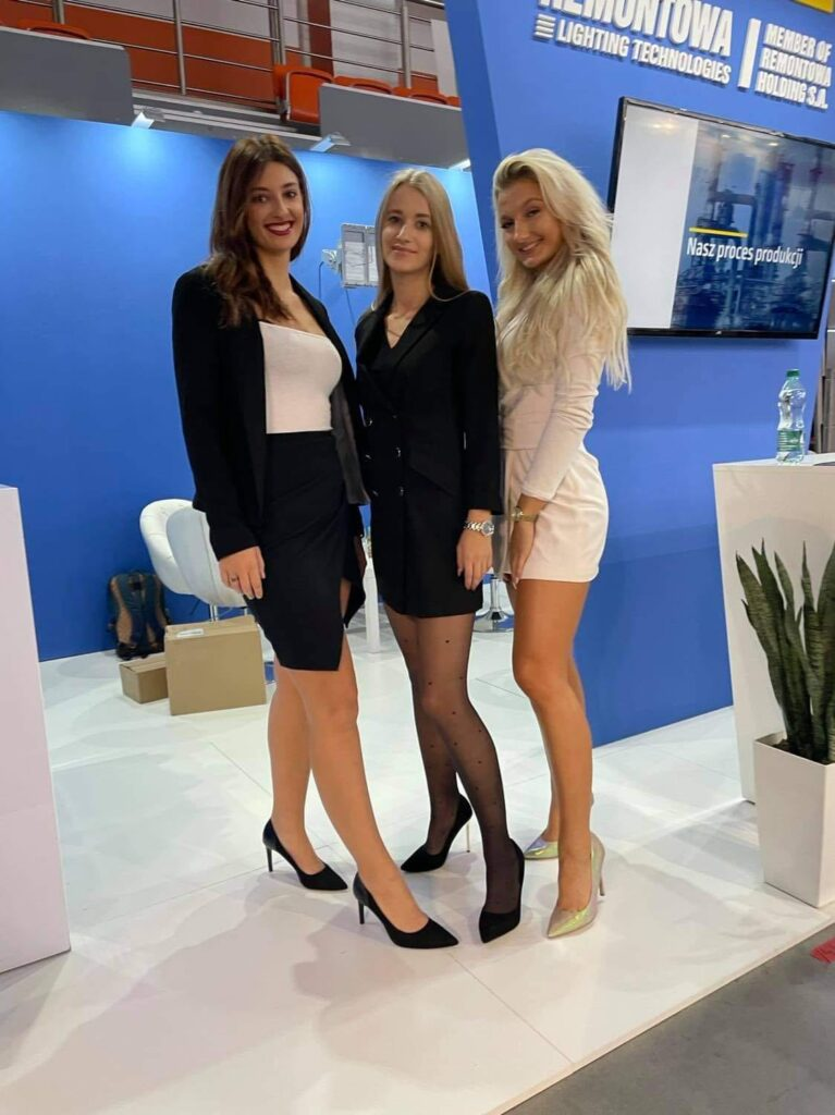 Hostessy na targach Energetab 2021 - Bielsko-Biała